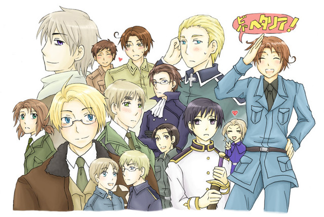 Hetalia Group Shot