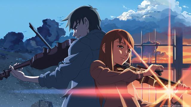 Смотреть аниме за облаками  в хорошем качестве