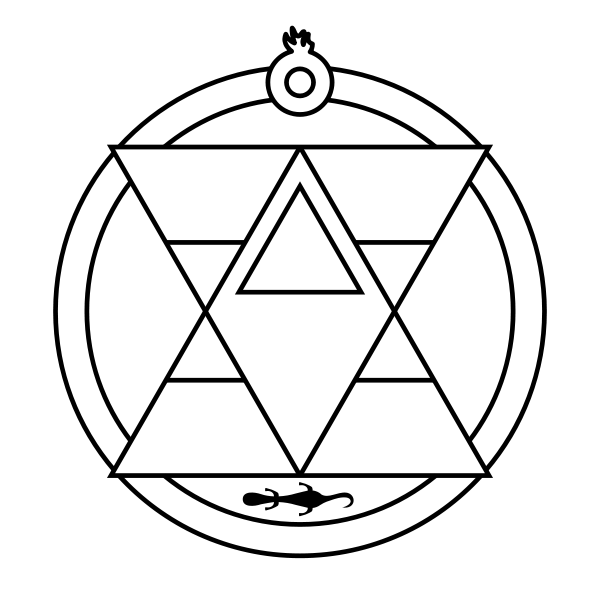 Fullmetal Alchemist Brotherhood Mustangs Alchemical Symbols