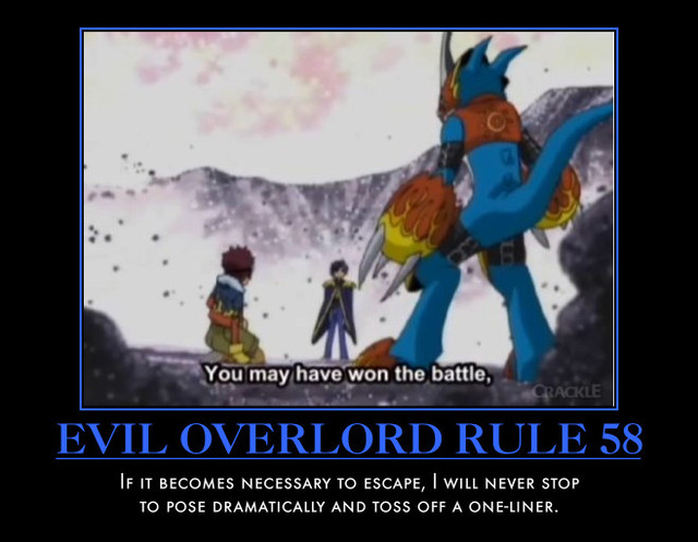 Evil Overlord Handbook The Akatsuki Hidden Sound Addition