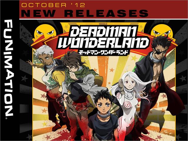 Deadman Wonderland [anime], Deadman Wonderland OVA [anime], Artworks ...