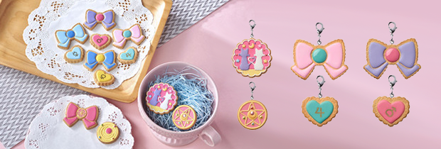 Sailor Moon Charm Pastisserie Cookie Charm Single Box