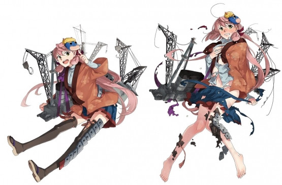 Crunchyroll Quot Kancolle Quot Girls Get Art Updates For Setsubun