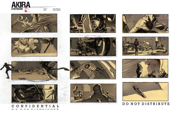 Crunchyroll  A Peek At LiveAction Akira Film Storyboards
