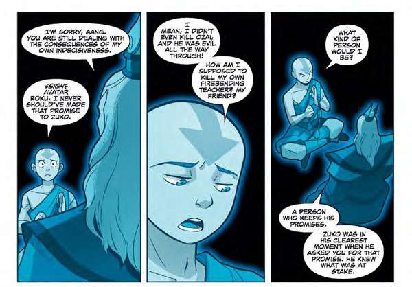 Crunchyroll Review The Last Airbender Comic Keeps Its Promise