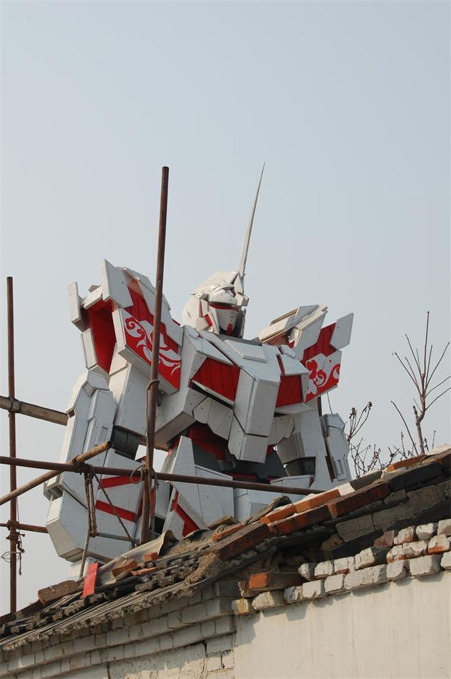 Crunchyroll Chinese College Student Creates 1 3 Scale