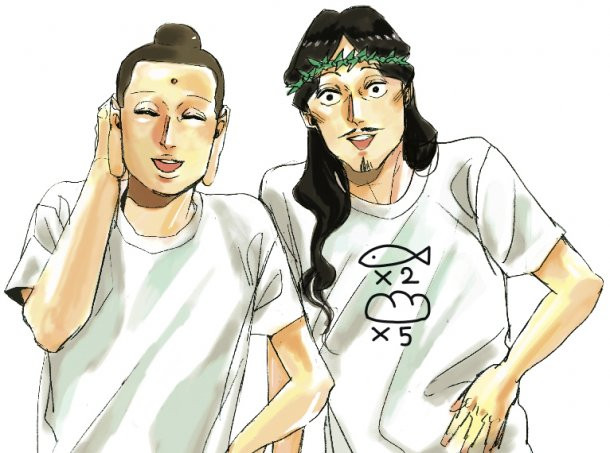 Buddha 2 Anime Characters : Crunchyroll jesus and buddha cast for quot saint young men