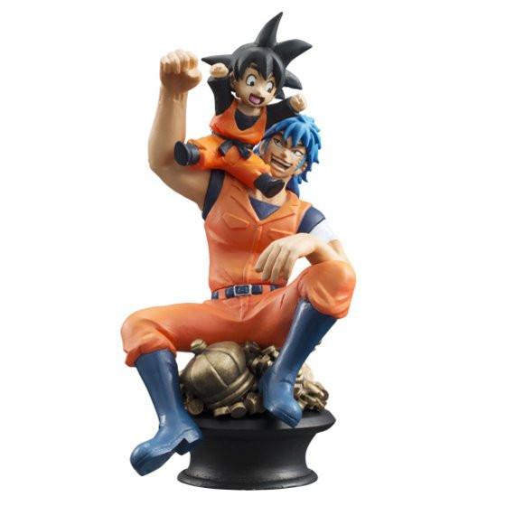 """""""Dragon Ball Z Kai"""" X """"One Piece"""" X """"Toriko"""" Chess Pieces"""