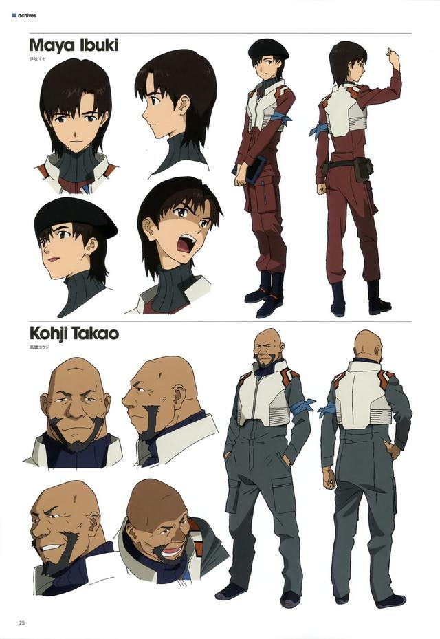 Character Design Maya : Crunchyroll quot evangelion english dub cast announced