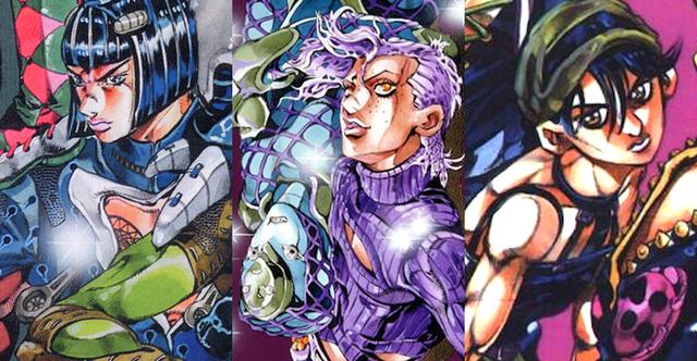 Tres Nuevos Personajes Para JoJo's Bizarre