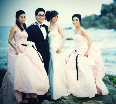 Shin eun jung wedding