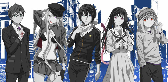 K Anime Characters Season 2 : Crunchyroll quot noragami season two visual goes online