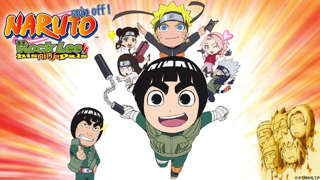 and his pals rock lee Naruto ninja