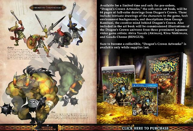 Crunchyroll Atlus Previews Dragon S Crown Art Book