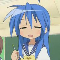 Tired Anime Girl