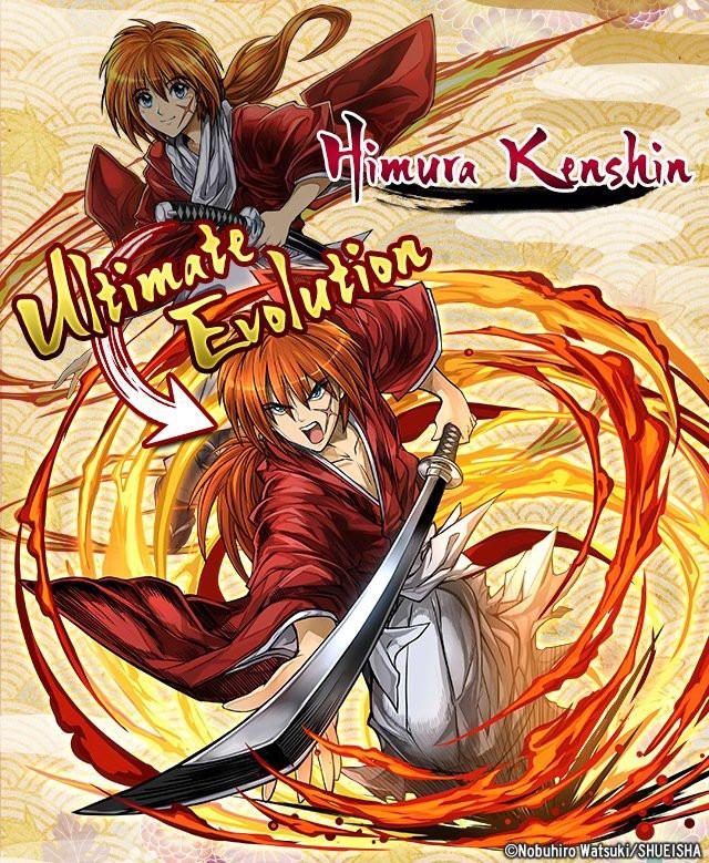 "The ""Rurouni Kenshin"" ""Puzzle & Dragons"