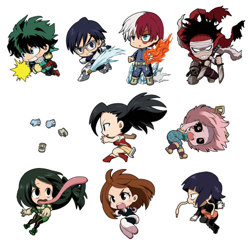 Anime Characters Running : Crunchyroll quot my hero academia shows off author s