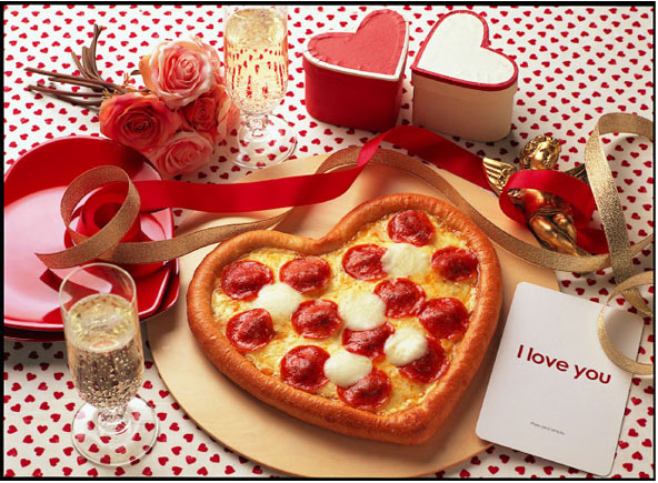 Elegant Crunchyroll   Have A Romantic Valentineu0027s Day With Pizza From Dominou0027s!