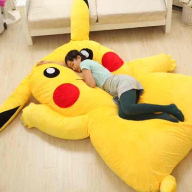 Crunchyroll Huge Pikachu Bed To Be Released