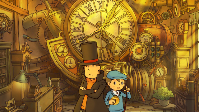 There's a Professor Layton TV series in development