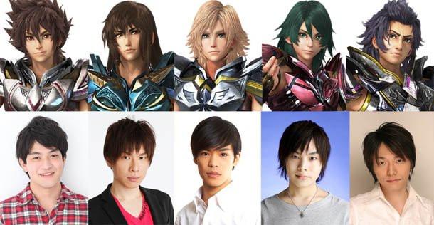 Crunchyroll - Main Voice Cast for