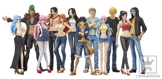 Les figurines du manga One Piece  Figurine Collector