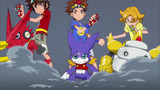 Digimon Xros Wars - The Young Hunters Who Leapt Through Time Episode 65