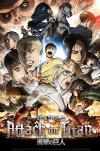 Attack on Titan Season 2 is a featured show.