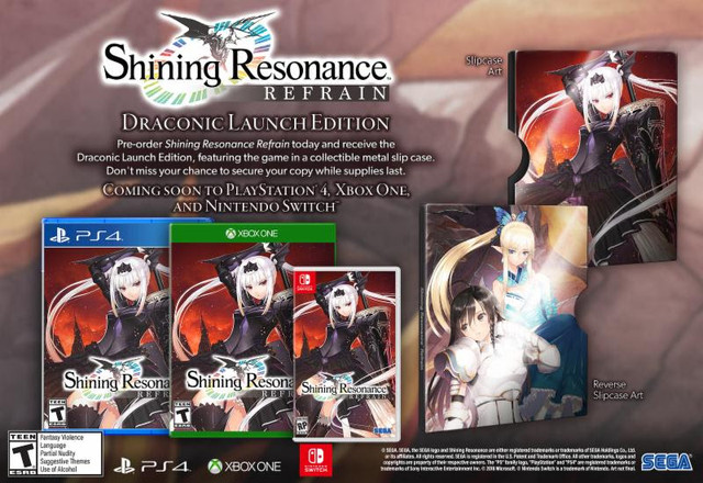 Shining Resonance Refrain Bringing JRPG Series to the West This Summer