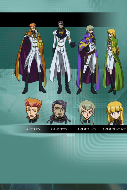 Code Geass Knights Of The Round