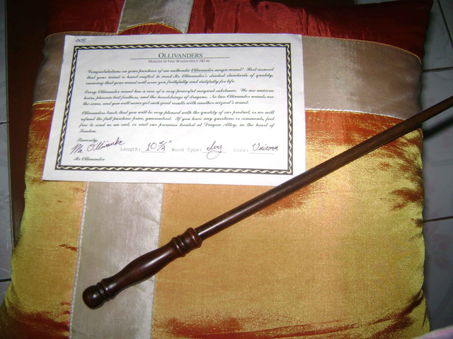 Crunchyroll groups harry potter 1 7 for Harry potter ivy wand
