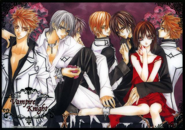 Vampire Knight Vanpaia Naito Is A Shojo Manga And Anime Series Written By Matsuri Hino The Premiered In January 2005 Issue