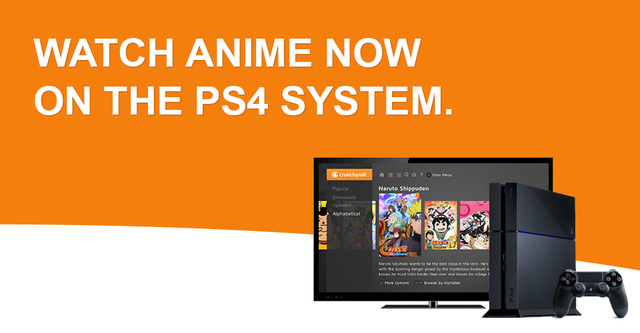 Crunchyroll on PS4