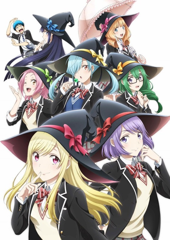 7 Witches Anime Characters : Crunchyroll quot yamada kun and the seven witches anime