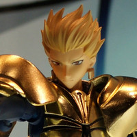 Saber Fate on Crunchyroll   Fate Zero Chogokin Armored Gilgamesh And Saber Previewed