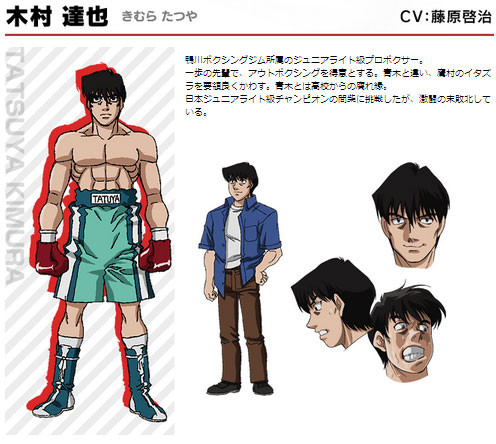 Crunchyroll Quot Hajime No Ippo Rising Quot Anime Cast And