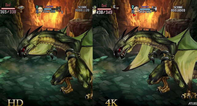 As Expected, Dragon's Crown Pro Looks Great in 4K