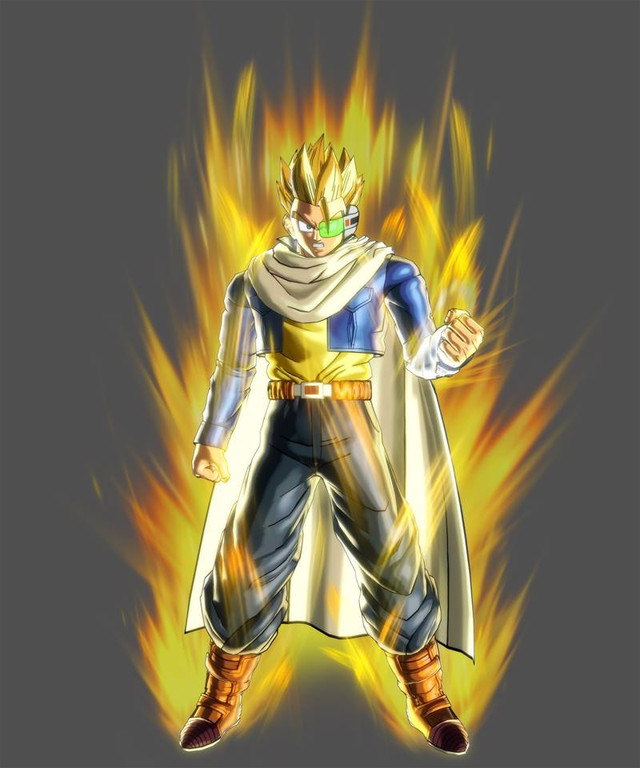 dragon ball xenoverse how to create future warrior