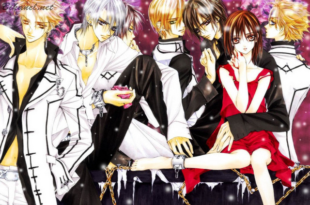 Anime Characters Vampire Knight : Crunchyroll the vampire knight lovers group info