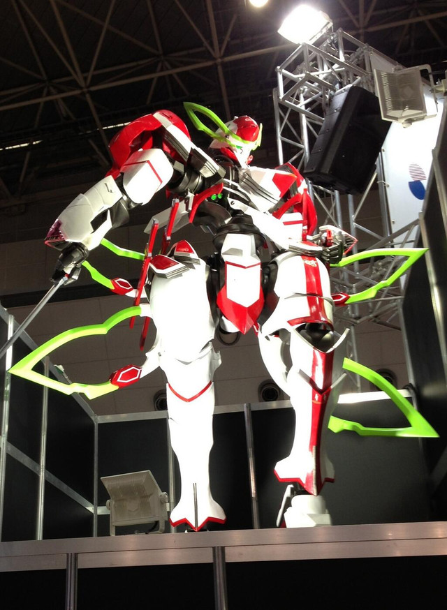 Anime Characters Over 6 Feet Tall : Crunchyroll scale quot valvrave the liberator robot