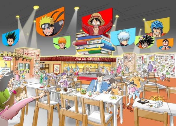 Crunchyroll Quot Shonen Jump Quot Inspired Amusement Park Opens