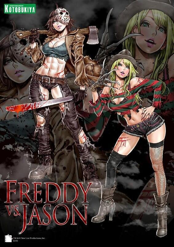Crunchyroll Kotobukiya Previews Freddy Vs Jason Freddy