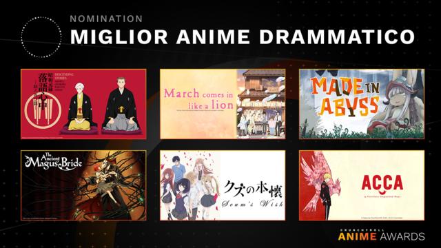Miglior anime drammatico