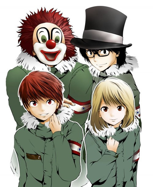Rock Band Sekai No Owari Gets Manga