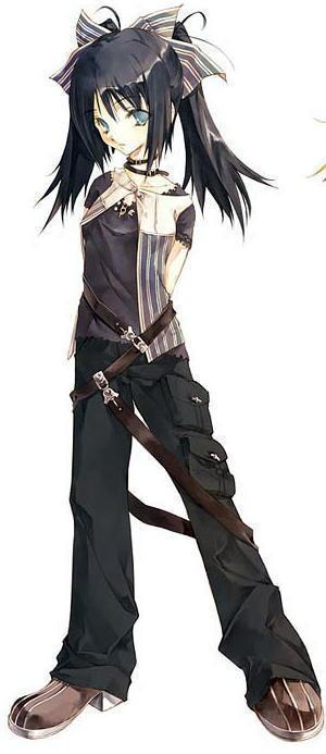 Manga Tomboy Outfits general tomboy in behavior