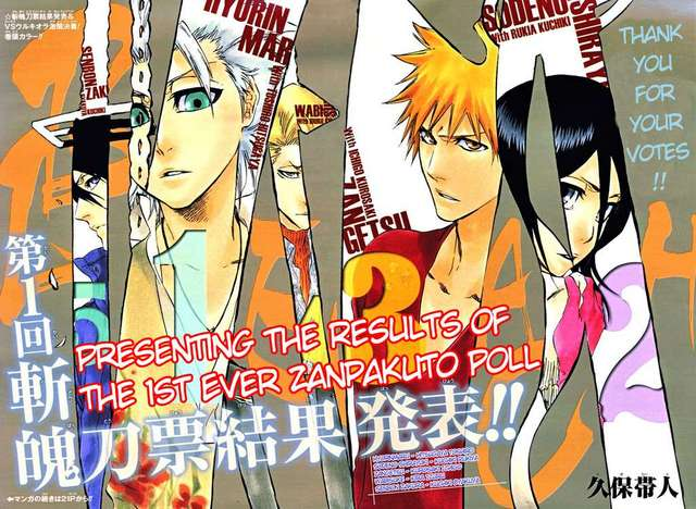 Anime Characters Popularity Poll : Crunchyroll library bleach manga discussion page