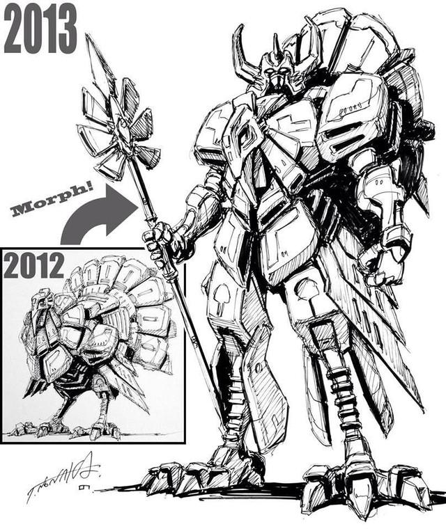 Crunchyroll Meet the 2014 Easter Mech