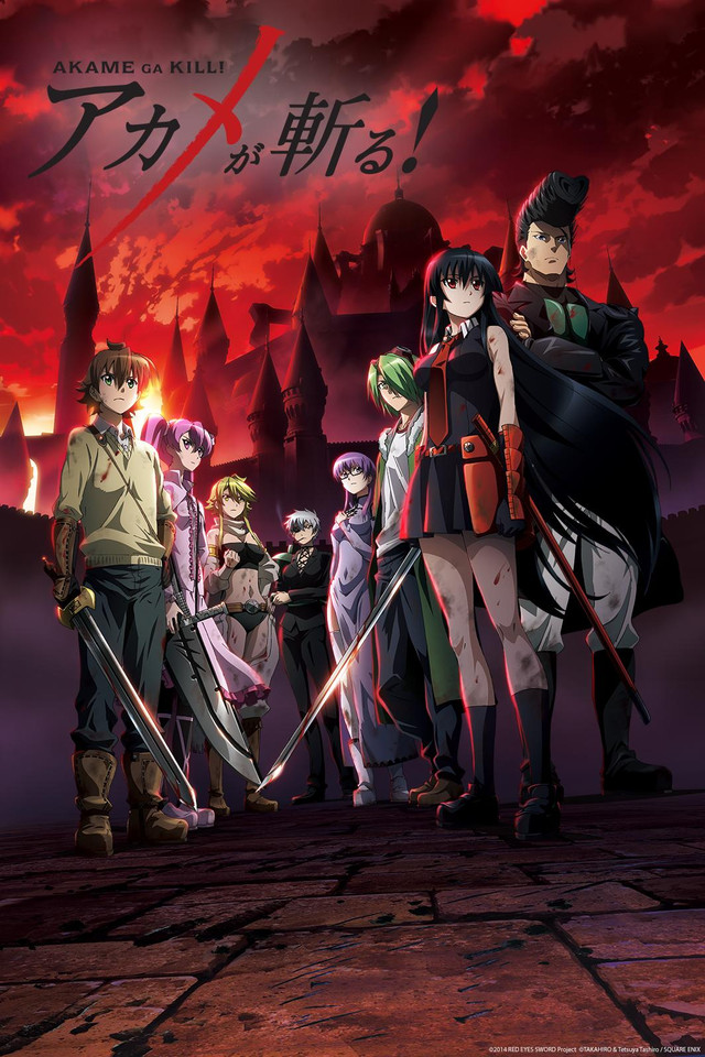 Akame ga KILL! 24 PL Full HD
