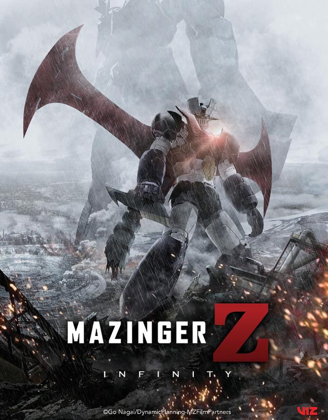 Mazinger Z Infinity Viz key