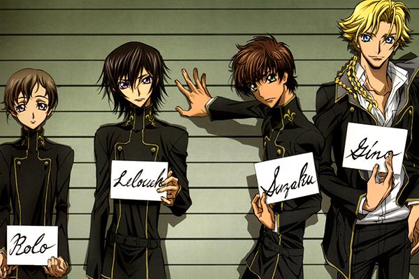 Code E Anime Characters : Crunchyroll anime idol which male characters